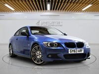 USED 2013 63 BMW 3 SERIES 2.0 320D M SPORT 2d AUTO 181 BHP + Sat/Nav, Leather Interior, Blueto