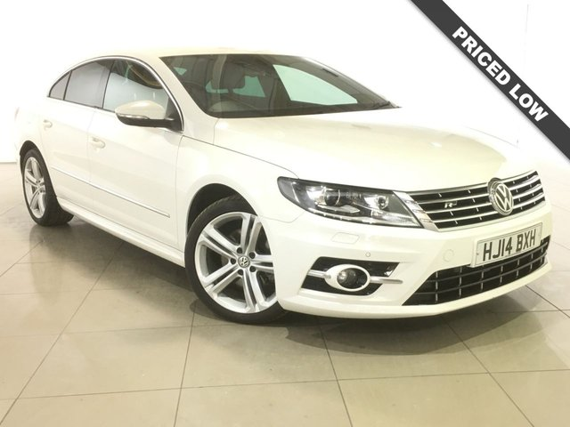 View our 2014 14 VOLKSWAGEN CC 2.0 R LINE TDI DSG BLUEMOTION TECHNOLOGY 4d AUTO 175 BHP