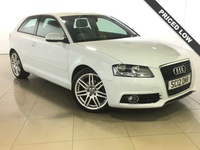 View our 2012 12 AUDI A3 2.0 TDI S LINE 3d 138 BHP