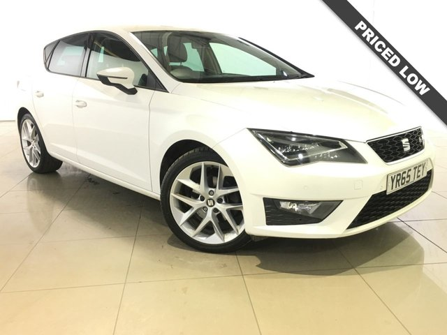 View our 2015 65 SEAT LEON 2.0 TDI FR TECHNOLOGY 5d 150 BHP