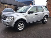 2011 LAND ROVER FREELANDER 2.2 TD4 GS 5d 150 BHP £10500.00