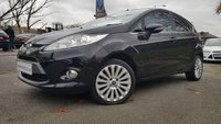 USED 2010 10 FORD FIESTA 1.6 TITANIUM TDCI 5d 94BHP 2KEYS+FSH5STAMPS+MEDIA+AC+CD+
