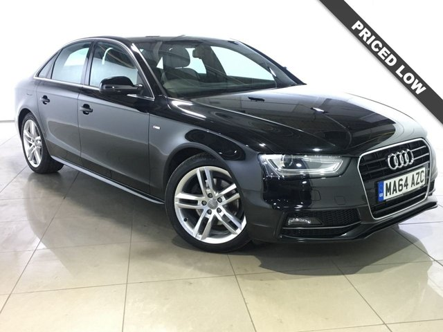 View our 2014 64 AUDI A4 2.0 TDI S LINE START/STOP 4d AUTO 148 BHP