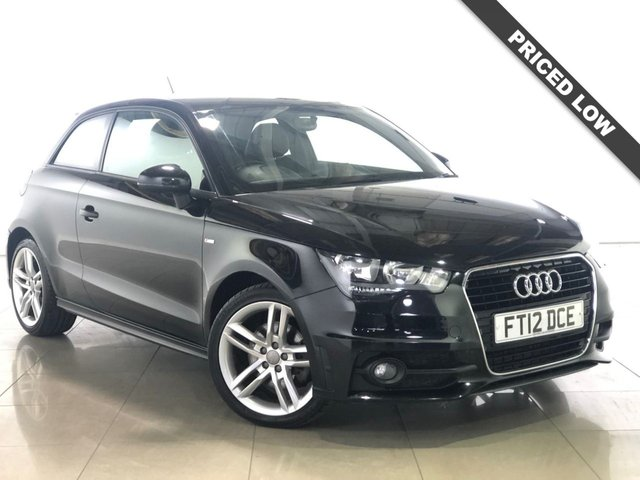 View our 2012 12 AUDI A1 1.6 TDI S LINE 3d 105 BHP