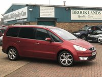 2008 FORD GALAXY 2.0 GHIA TDCI AUTO Tango Red Met. Black/Grey Leather 140 BHP £SOLD