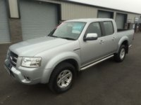 USED 2009 L FORD RANGER 3.0 THUNDER 4X4 LWB D/C 1d AUTO 156 BHP LEATHER NO VAT