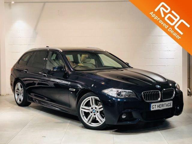 2013 63 BMW 5 SERIES 530D [PAN ROOF] MSPORT TOURING **HUGE SPEC**