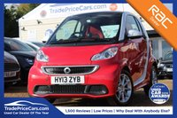 USED 2013 13 SMART FORTWO 1.0 PASSION 2d AUTO 84 BHP