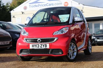 2013 SMART FORTWO 1.0 PASSION 2d AUTO 84 BHP £4550.00