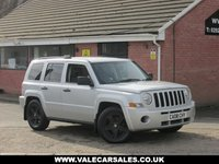 USED 2008 08 JEEP PATRIOT 2.0 CRD SPORT 4x4 5dr SERVICE HISTORY / CAM BELT CHANGED