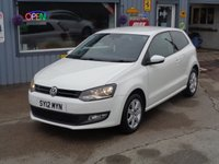 USED 2012 12 VOLKSWAGEN POLO 1.2 MATCH 3d 59 BHP    58K Full Service History    Only 58K