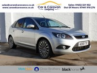 USED 2009 59 FORD FOCUS 1.8 TITANIUM 5d 125 BHP Service History A/C + Sensors Buy Now, Pay Later!