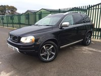 2013 VOLVO XC90 2.4 D5 R-DESIGN NAV AWD 5d AUTO 200 BHP ALLOYS PRIVACY CRUISE CLIMATE LEATHER FSH MOT 11/19 £10490.00