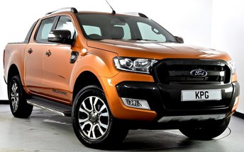2017 FORD RANGER 3.2 TDCi Wildtrak Double Cab Pickup 4x4 4dr Auto £20995.00