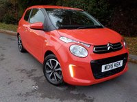 2015 CITROEN C1 1.0 FLAIR 3d 68 BHP £5995.00
