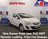 USED 2011 61 VAUXHALL CORSA 1. CDTI  Very Low Mileage Pedigree Example,(38375 Miles), One Owner, 2 Keys with Full Service History. *Over The Phone Low Rate Finance Available*   *UK Delivery Can Also Be Arranged*