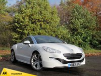USED 2013 63 PEUGEOT RCZ 2.0 HDI GT FAP 2d 163 BHP FULL HEATED LEATHER INTERIOR