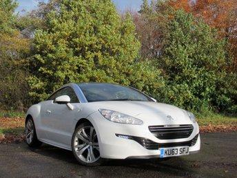 2013 PEUGEOT RCZ 2.0 HDI GT FAP 2d 163 BHP £7690.00