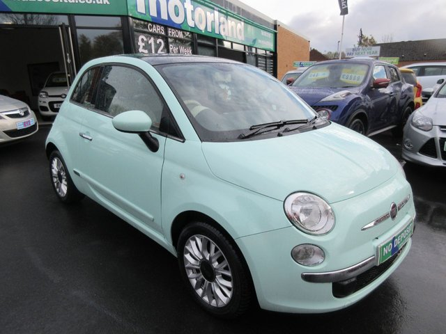 USED 2014 64 FIAT 500 1.2 LOUNGE 3d 69 BHP **FULL SERVICE HISTORY..JUST ARRIVED..BUY NOW PAY LATER FINANCE AVAILABLE..