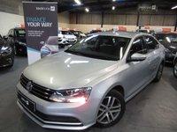 2014 VOLKSWAGEN JETTA 2.0 SE TDI BLUEMOTION TECHNOLOGY DSG 4d AUTO 109 BHP £7490.00