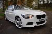 2015 BMW 1 SERIES 2.0 116D M SPORT 5d 114 BHP £13250.00