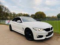 USED 2014 14 BMW 4 SERIES 3.0 435D XDRIVE M SPORT 2d AUTO 309 BHP Full BMW Service History! DAB! Pro Media, Elec Mem Seats, B-tooth!