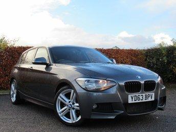 2013 BMW 1 SERIES 2.0 118D M SPORT 5d AUTOMATIC £12000.00