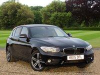 USED 2015 15 BMW 1 SERIES 1.5 116D SPORT 5d 114 BHP A Fantastic Economical Car