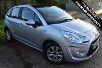 USED 2012 12 CITROEN C3 1.4 VTR PLUS EGS 5d AUTO 94 BHP