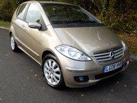 2008 MERCEDES-BENZ A CLASS 2.0 A200 CDI ELEGANCE SE 5d AUTO 139 BHP £4995.00