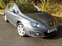 2012 SEAT LEON 1.6 CR TDI ECOMOTIVE S AC 5d 103 BHP £5795.00