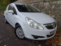 2009 VAUXHALL CORSA 1.2 CDTI 1d 73 BHP CAR DERIVED VAN £2995.00