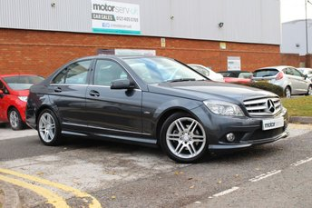 2010 MERCEDES-BENZ C CLASS 1.8 C180 CGI BLUEEFFICIENCY SPORT 4d AUTO 156 BHP £8249.00