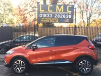 """USED 2017 17 RENAULT CAPTUR 1.5 DYNAMIQUE S NAV DCI 5d AUTO 90 BHP STUNNING VALENCIA ORANGE WITH GLOSS BLACK ROOF. DARK CHARCOAL CLOTH UPHOLSTERY. VERY LOW MILEAGE. 17"""" GLOSS BLACK/SILVER ALLOY WHEELS. SATELLITE NAVIGATION. CRUISE CONTROL. AIR CONDITIONING. BLUETOOTH SYSTEM. PLEASE GOTO www.lowcostmotorcompany.co.uk TO VIEW OVER 120 CARS IN STOCK, SOME OF THE CHEAPEST ON AUTOTRADER."""