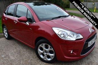 2010 CITROEN C3 1.6 EXCLUSIVE 5d AUTO 118 BHP £5000.00