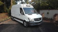 2014 MERCEDES-BENZ SPRINTER 2.1 313 CDI MWB FREEZER VAN WITH STAND BY £9495.00