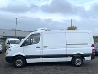 USED 2012 12 MERCEDES-BENZ SPRINTER 2.1 313 CDI MWB TEMPERATURE CONTROLLED FRIDGE VAN MWB, FRIDGE VAN, OVERNIGHT STANDBY, FDSH, ONE OWNER,