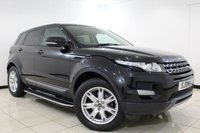 USED 2013 13 LAND ROVER RANGE ROVER EVOQUE 2.2 ED4 PURE 5DR 150 BHP Full Service History FULL SERVICE HISTORY + HEATED LEATHER SEATS + PARKING SENSOR + BLUETOOTH + SIDE STEPS + PRIVACY GLASS + CRUISE CONTROL + CLIMATE CONTROL + MULTI FUNCTION WHEEL + DAB RADIO + MERIDIAN PREMIUM SPEAKERS + 18 INCH ALLOY WHEELS