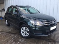 2012 VOLKSWAGEN TIGUAN 2.0 S TDI BLUEMOTION TECHNOLOGY 4MOTION DSG 5d AUTO 138 BHP £9995.00