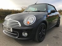 USED 2013 13 MINI CONVERTIBLE 1.6 COOPER D 2d 112 BHP