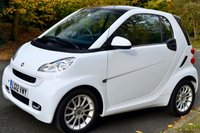 2012 SMART FORTWO 1.0 PASSION SOFTOUCH MHD 2d AUTO £SOLD