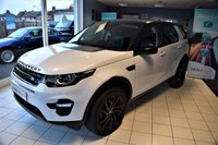 USED 2017 17 LAND ROVER DISCOVERY SPORT 2.0 TD4 HSE BLACK 5d AUTO 180 BHP