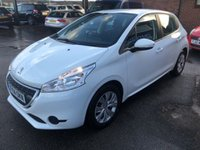 USED 2014 14 PEUGEOT 208 1.4 ACCESS PLUS HDI 5d 68 BHP FULL SERVICE HISTORY