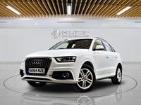 USED 2014 64 AUDI Q3 2.0 TDI S LINE 5d 138 BHP +  Leather Interior, Bluetooth