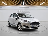 USED 2014 64 FORD FIESTA 1.0 ZETEC 5d 99 BHP +  AIR CON + AUX