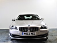 USED 2012 62 BMW 5 SERIES 2.0 520D SE 4d AUTO 181 BHP + Sat/Nav, Leather Interior, Blueto