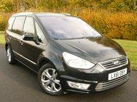 2011 FORD GALAXY 2.0 TITANIUM X TDCI 5d AUTO POWERSHIFT 163 BHP 7 SEAT  £11890.00