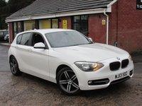 2013 BMW 1 SERIES 114D SPORT 5dr £7990.00