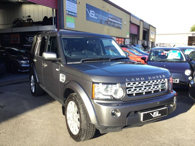 2013 63 LAND ROVER DISCOVERY 3.0 4 SDV6 XS 5d AUTO 255 BHP