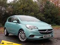 USED 2015 64 VAUXHALL CORSA 1.4 SE ECOFLEX 5d 89 BHP FRONT AND REAR PARKING SENSORS, 1/2 LEATHER INTERIOR